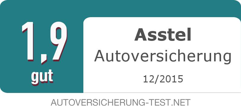 Testsiegel: Asstel Autoversicherung width=