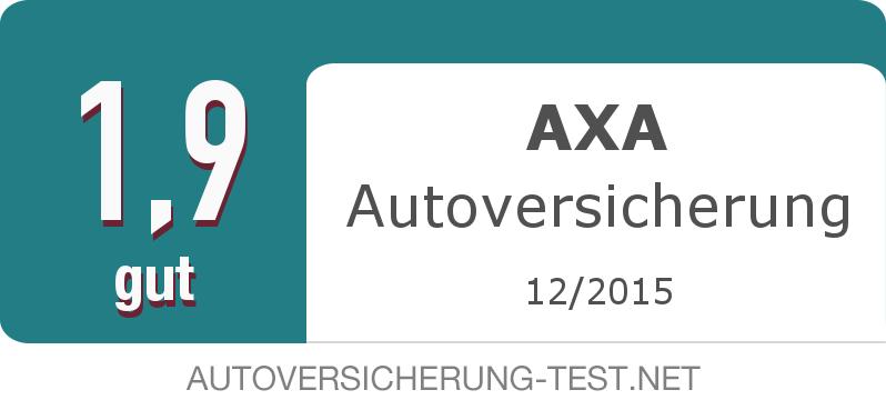 Testsiegel: AXA Autoversicherung width=