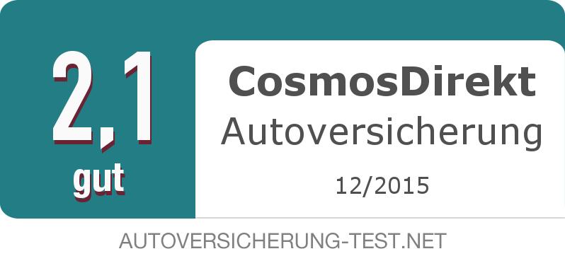 Testsiegel: CosmosDirekt Autoversicherung width=
