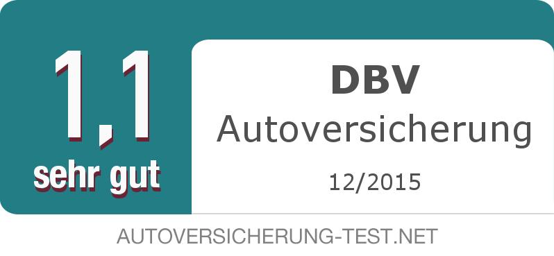 Testsiegel: DBV Autoversicherung width=