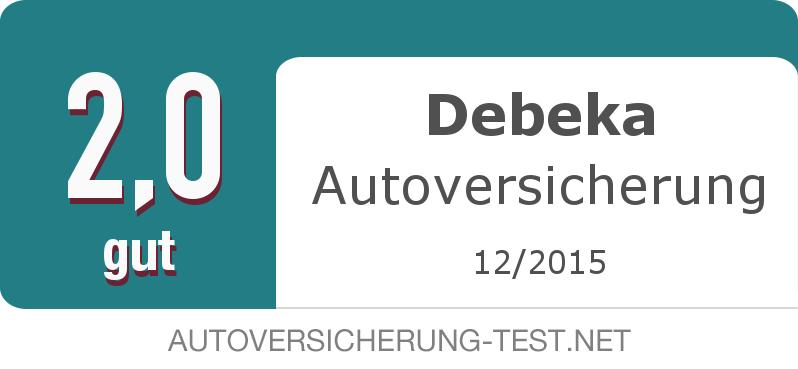 Testsiegel: Debeka Autoversicherung width=