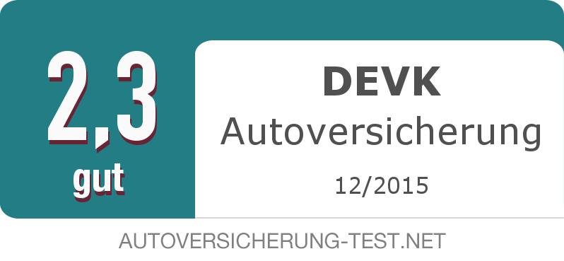 Testsiegel: DEVK Autoversicherung width=