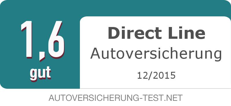 Testsiegel: Direct Line Autoversicherung width=