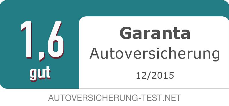 Testsiegel: Garanta Autoversicherung width=