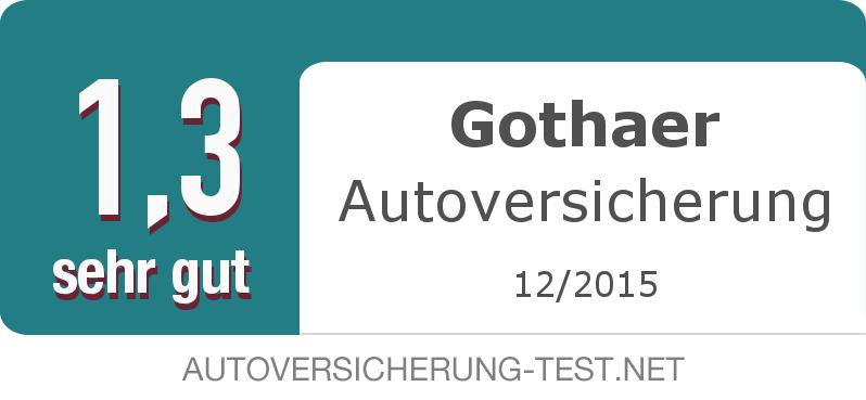 Testsiegel: Gothaer Autoversicherung width=