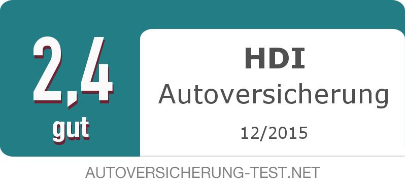 Testsiegel: HDI Autoversicherung width=