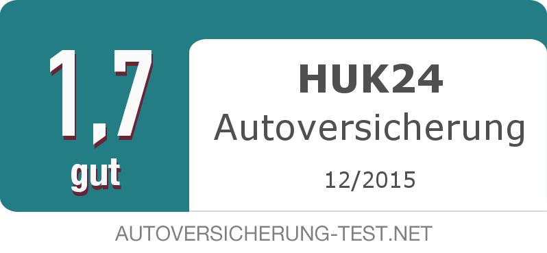 Testsiegel: HUK24 Autoversicherung width=