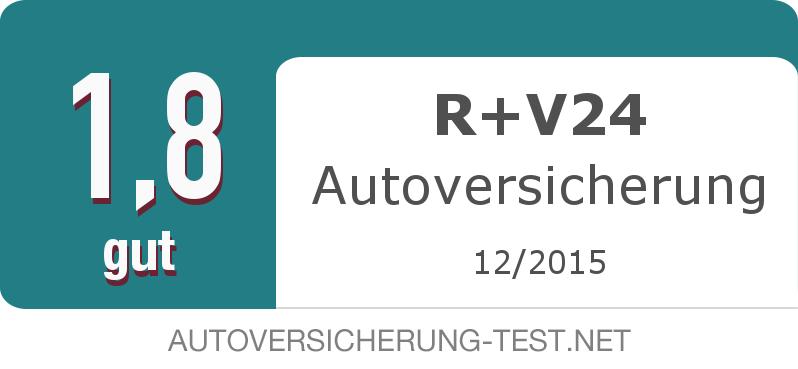 Testsiegel: R+V24 Autoversicherung width=