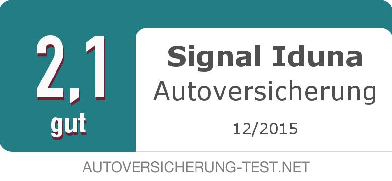 Testsiegel: Signal Iduna Autoversicherung width=
