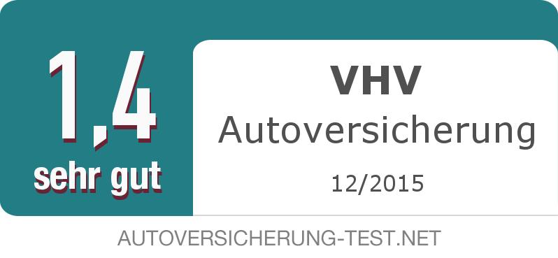 Testsiegel: VHV Autoversicherung width=