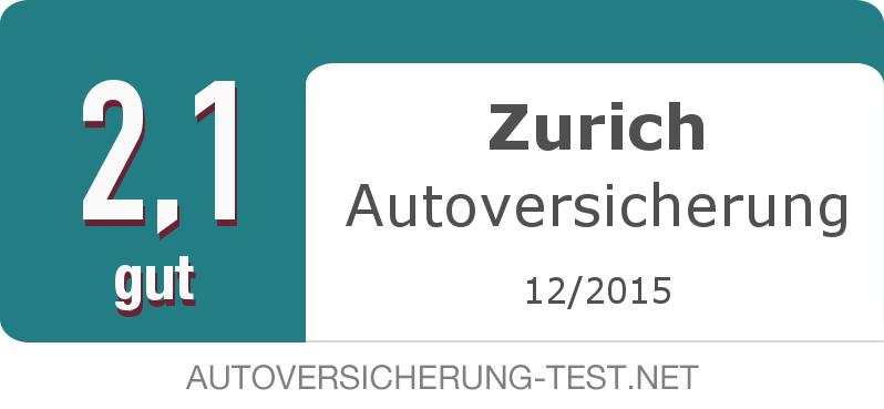 Testsiegel: Zurich Autoversicherung width=