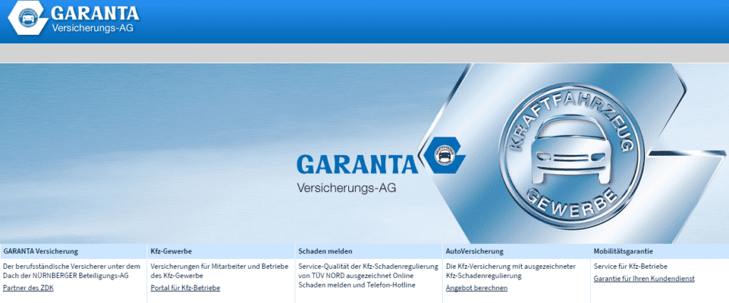 Garanta Autoversicherung Test Der Grosse Testbericht 2019